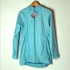 Columbia Rain Jacket Protector Sport teal womens S